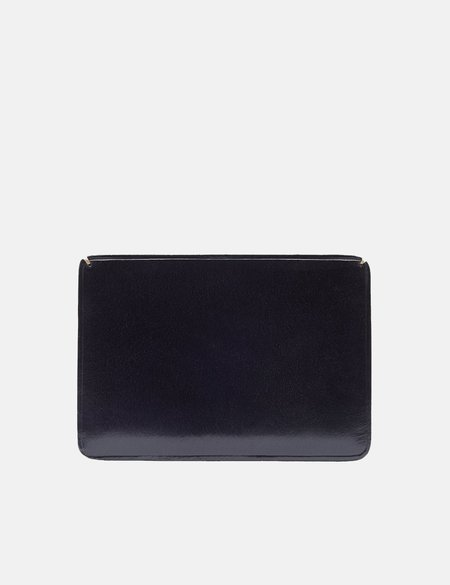 Il Bussetto Small Card Holder - Navy Blue