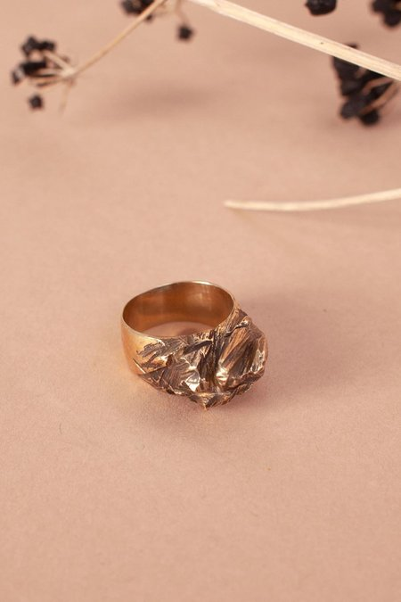 Mutter Metal Works Cliff Ring - Brass