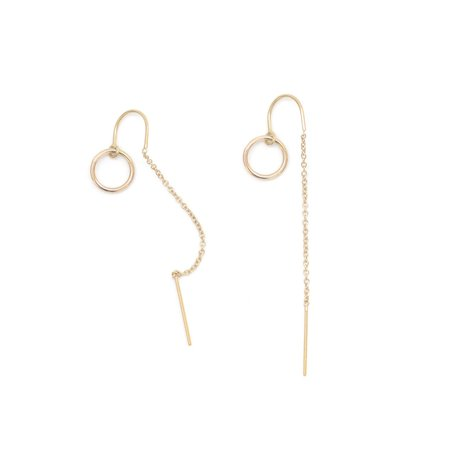 Favor Jewelry Loop Ear Threads - Gold