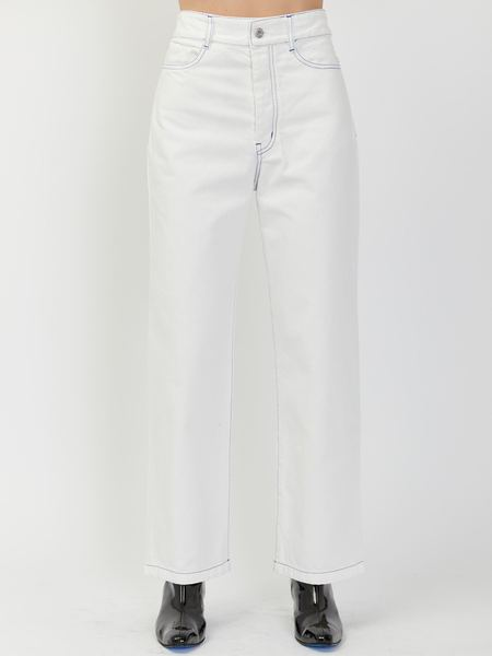 Kowtow Linear Jeans - Ecru
