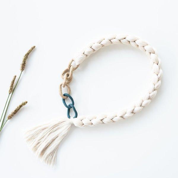 Barrow Curb Tassel Necklace