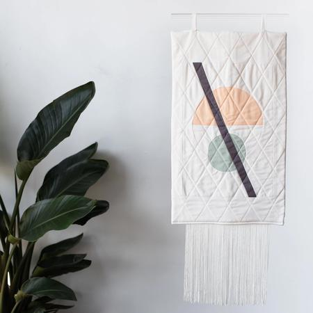 Ersa Fibers Quilted Wall Hanging
