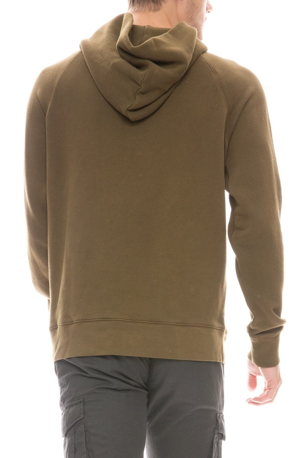 Alex Mill French Terry Hoodie - Dark Olive