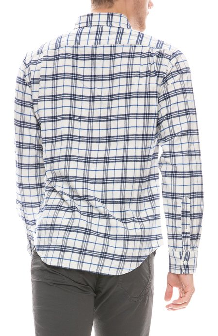 RELWEN Plaid Flannel Shirt