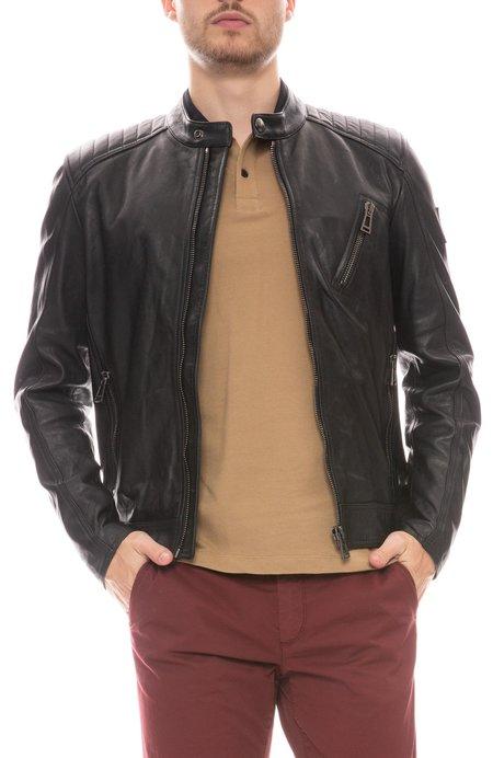Belstaff V Racer Leather Jacket -Black