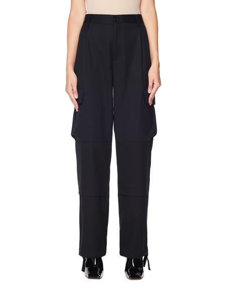 Vetements Wool Cargo Pants - Black
