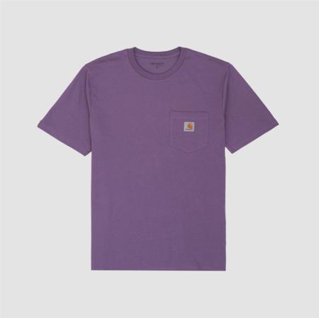 CARHARTT WIP Shortsleeve Pocket T-Shirt - Mauve