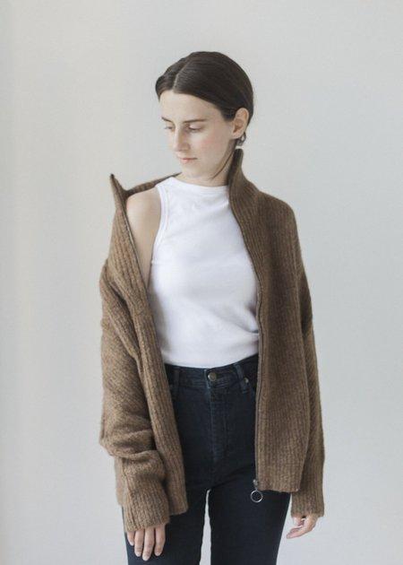 Line Knitwear Rita jacket - Cedar
