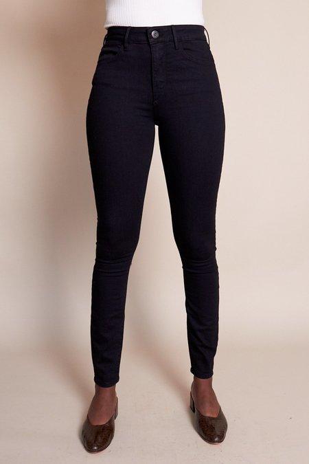 3x1 W3 Channel Seam Skinny Jean - Black No.1