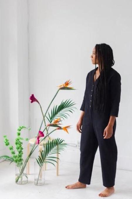 Anara Justine Jumpsuit - Sable