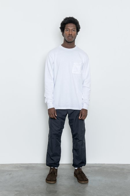 Paa Long Sleeve Pocket Tee - White