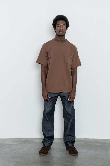 Paa Short Sleeve Pocket Tee - Cocoa