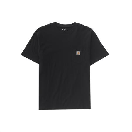 CARHARTT WIP Shortsleeve Pocket T-Shirt - Black