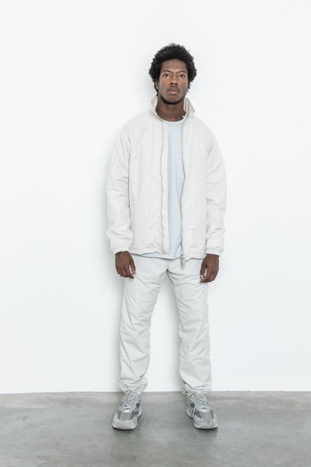 Paa Warm Up Nylon Tussah Jacket - Ecru