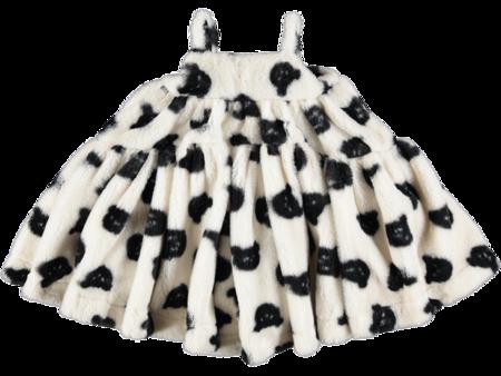 Kids Caroline Bosmans Teddy Faux Fur Dress - Pink