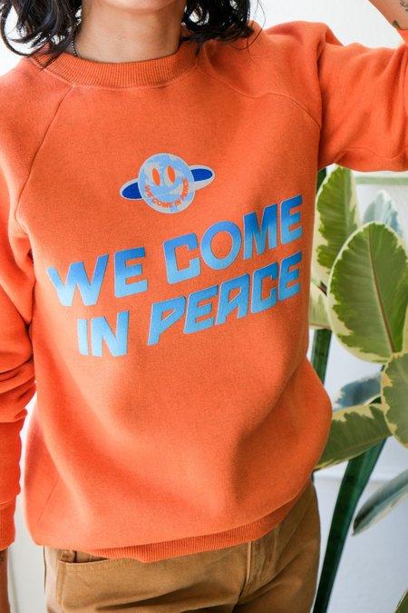 W'Menswear We Come In Peace Sweatshirt