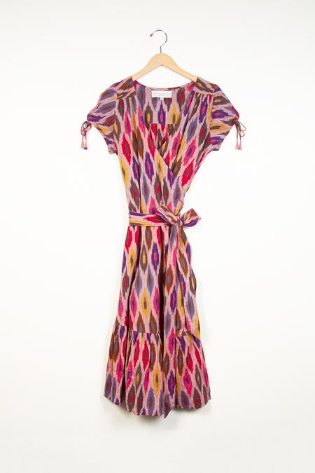 Bhoomki Ikat Wrap Dress