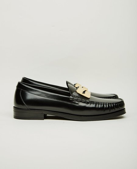 BUSCEMI TOWN LOAFER - BLACK