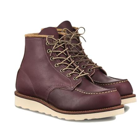 "Red Wing Shoes 6"" Moc Toe Boot - Oxblood"