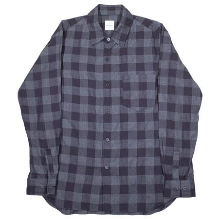 Sage de Cret Checkered Long Sleeve Shirt - Black/Grey
