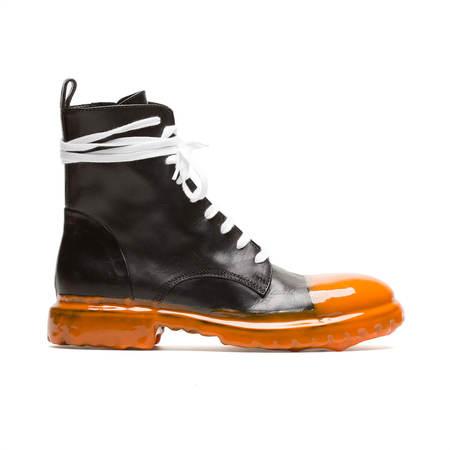 MATTIA CAPEZZANI Lace fastening Boots - Black