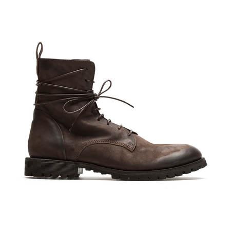 MATTIA CAPEZZANI Lace fastening Boots - Brown