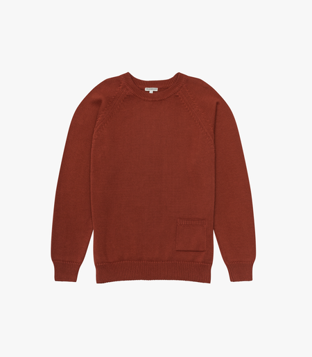 Knickerbocker MFG The Barge Sweater - Brick