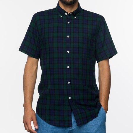 Portuguese Flannel The Bonfim Shirt - Blackwatch