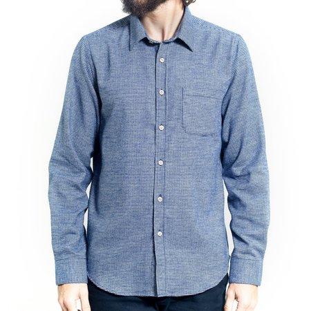 Portuguese Flannel The Estrela Shirt - Navy