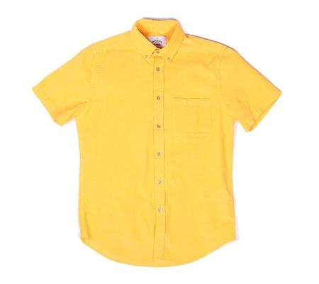 Portuguese Flannel The Lobo Shirt - Pretty Yellow