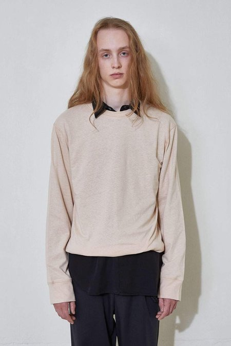 L'Homme Rouge The House Long Sleeve - Tan Peach