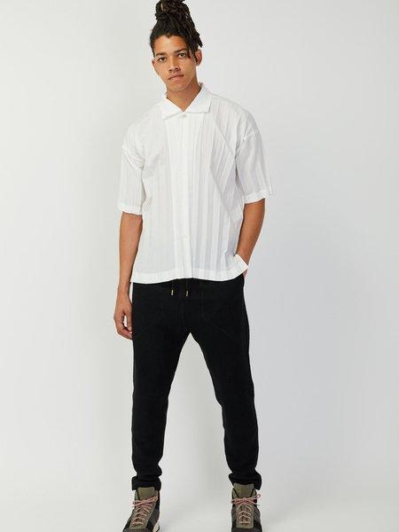 Issey Miyake Homme Plisse Edge Shirt - White