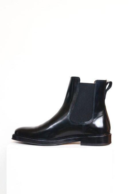 INLU Middle heel Ankle Boots GreenPlum on Garmentory