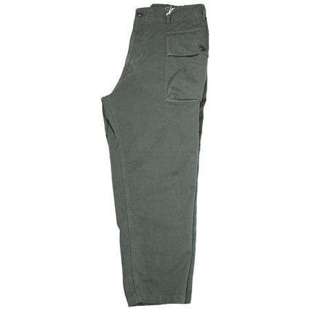 Sage de Cret Cargo Pants - Army Green