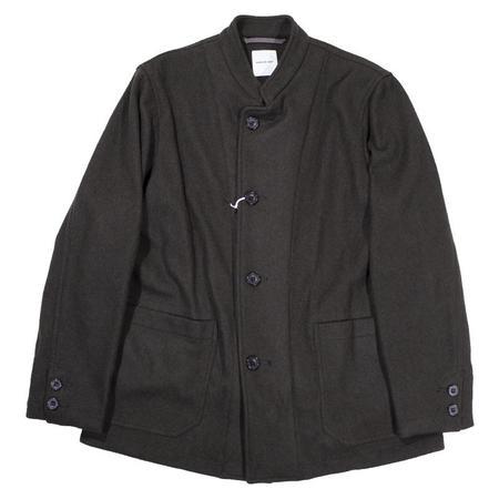 Sage de Cret Tunic Collar Jacket - Olive