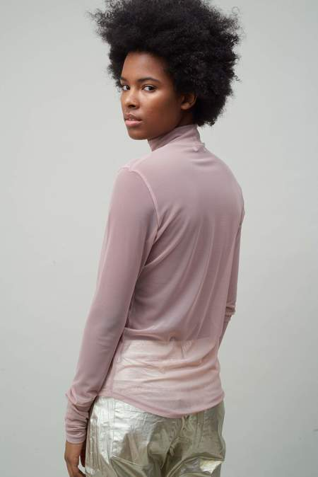 NOMIA Long Sleeve Mock Neck - Rose