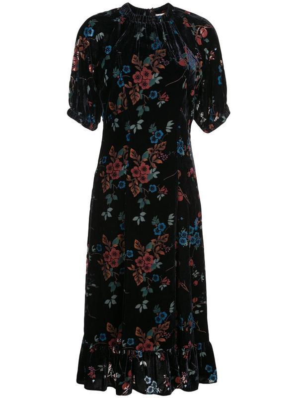 SEA Mari Dolman Dress - blue