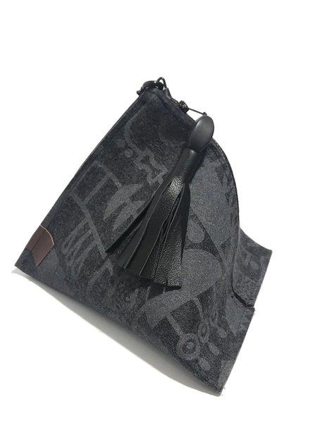 Lorraine Tuson Lola Bag - Black/charcoal gray