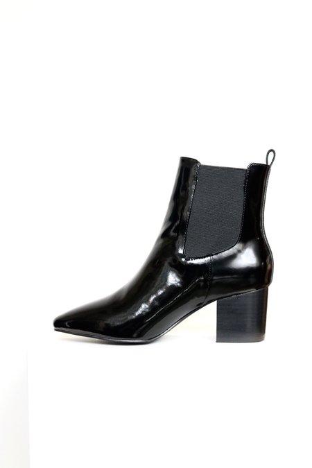 Sol Sana Teddy Boot - Gloss Black