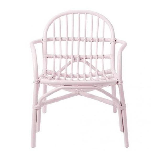 Awe Inspiring Kids Bloomingville Rattan Chair Lounge Blush Pink On Garmentory Dailytribune Chair Design For Home Dailytribuneorg