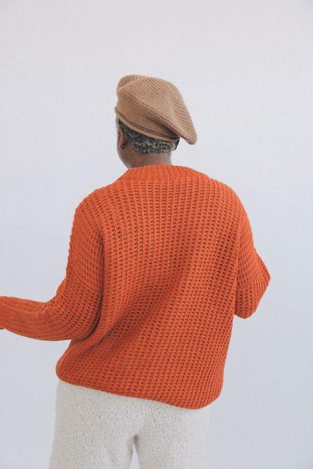 Kordal Kei Sweater - Clementine