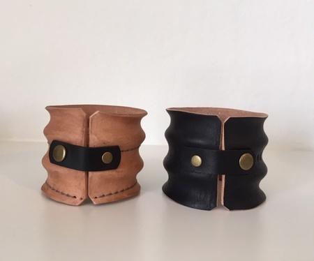 Allen Design Leather Cuff Bracelet