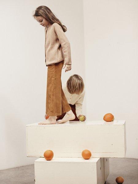 kids le petit germain Picasso Pant - Mustard