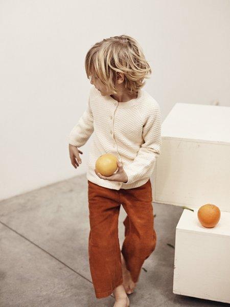 Kids le petit germain Picasso Pant - Rust