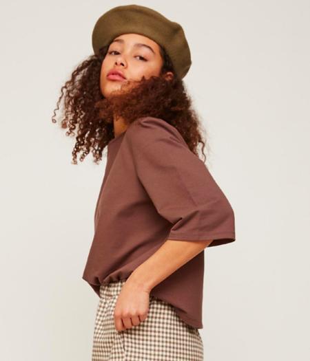 Rita Row T-Shirt - Mauve