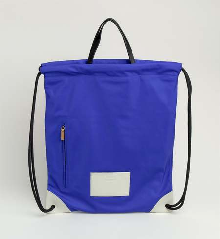 Matter Matters Gallery The square Drawstring Backpack - Blue