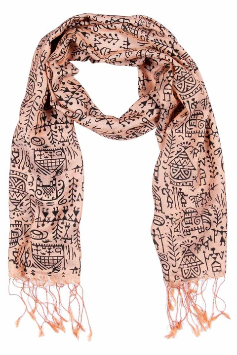 Symbology it Takes a Village Scarf