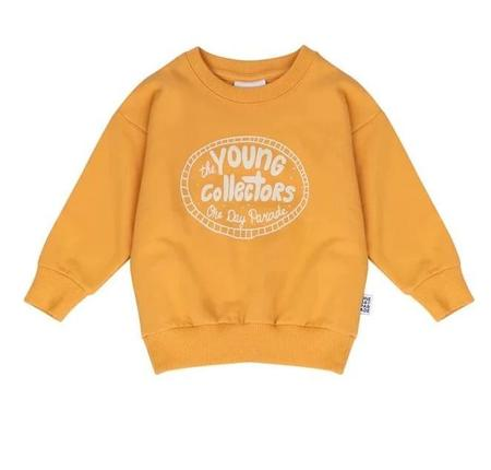 KIDS One Day Parade Young Collectors Sweater - YELLOW