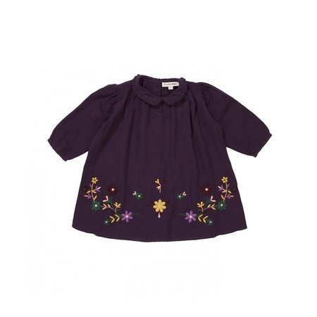 KIDS Caramel Phoebe Baby Dress - Aubergine