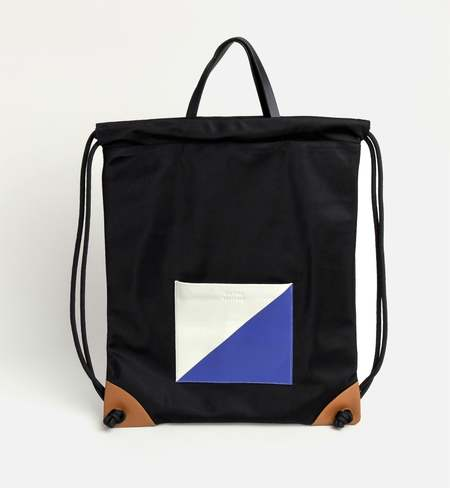 Matter Matters Gallery The square Drawstrig Backpack - Black
